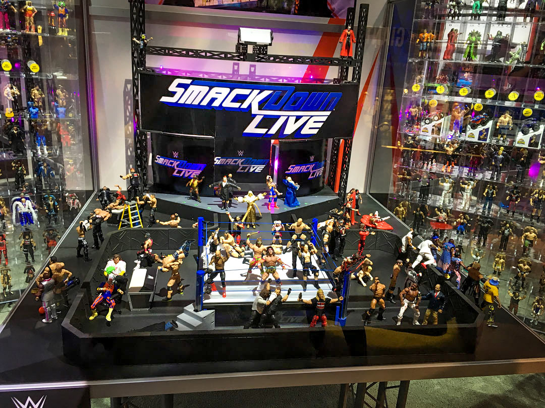WWE Mattel at SDCC San Diego Comic Con 2018