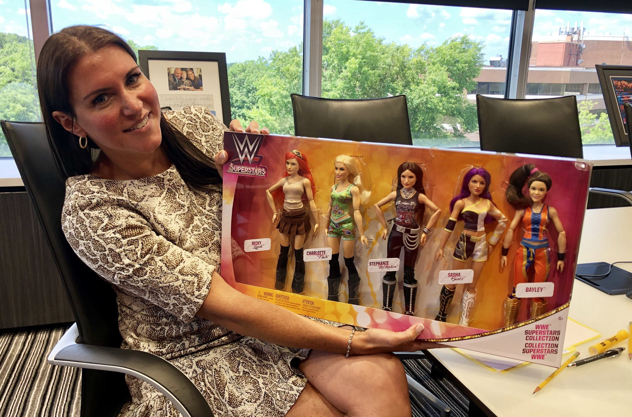 WWE Superstars Collection Fashion Dolls 5 pack