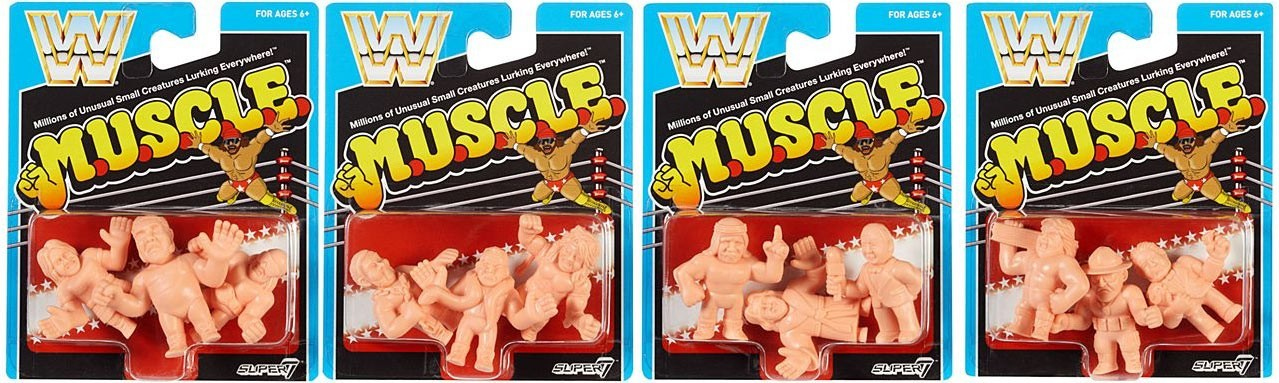 WWE Muscle Figures