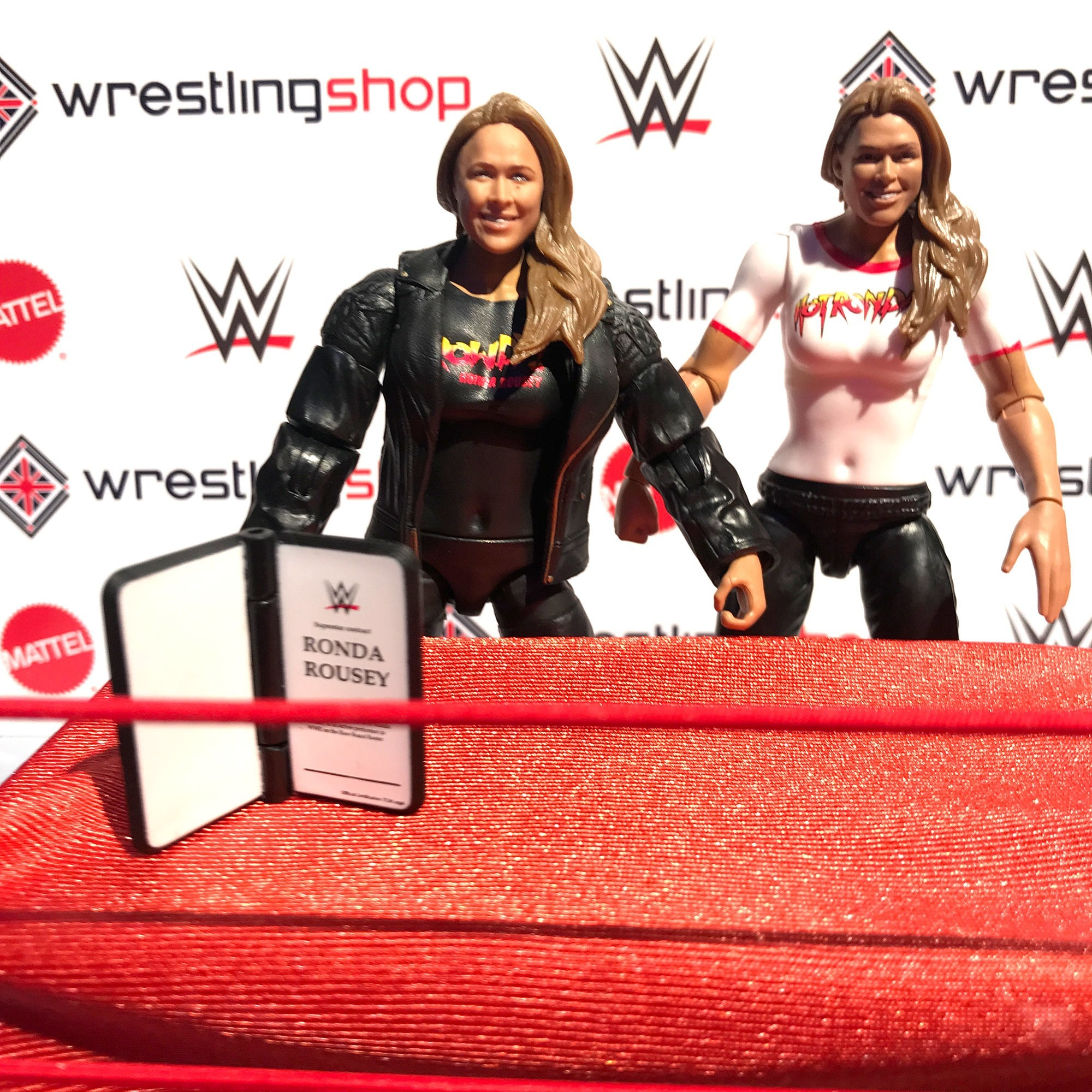 Ronda Rousey WWE Figure - Wrestling Shop