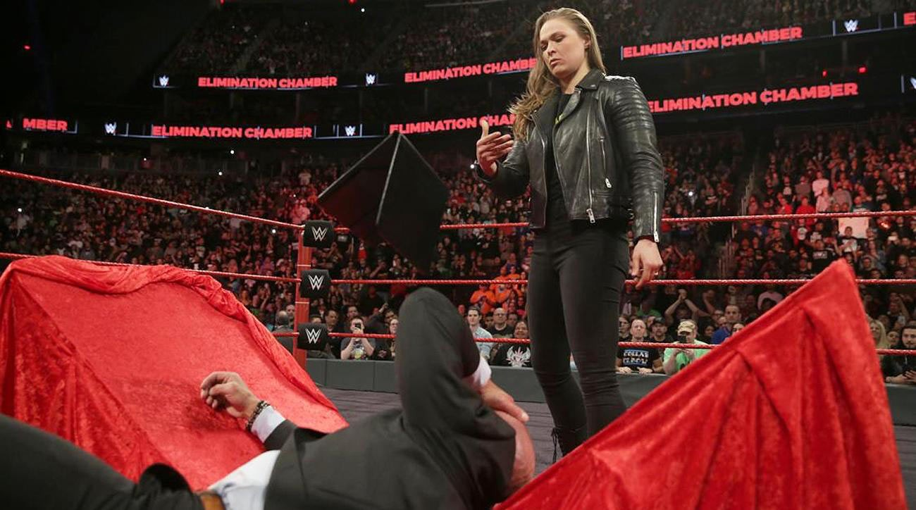 Ronda Rousey WWE Elimination Chamber
