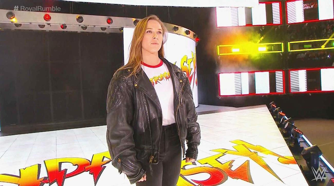 Ronda Rousey WWE Royal Rumble 2018