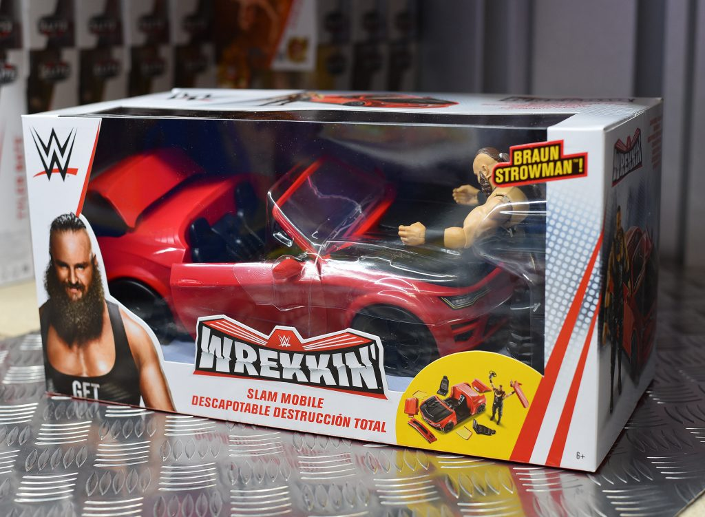 WWE Wrekkin Slam Mobile car