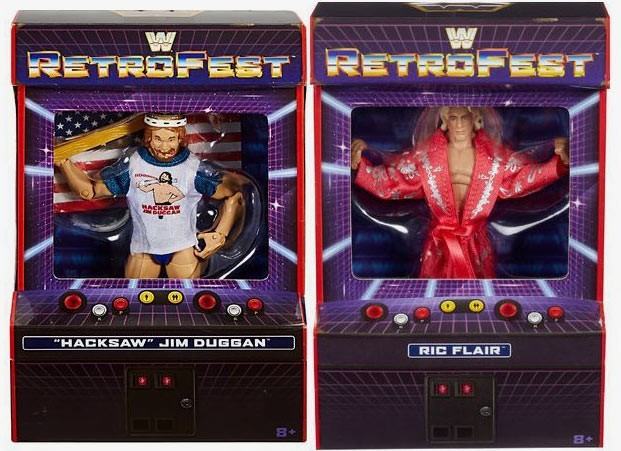 Hacksaw Jim Duggan & Ric Flair WWE Retrofest