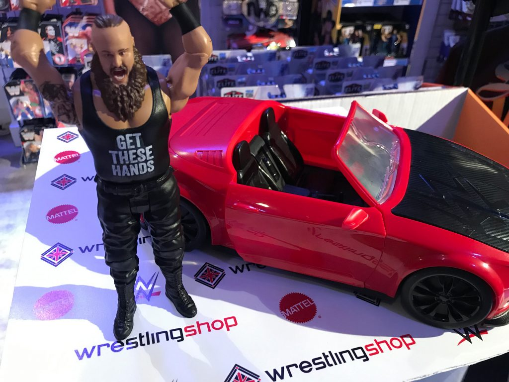 WWE Wrekkin Slam Mobile Car - Braun Strowman
