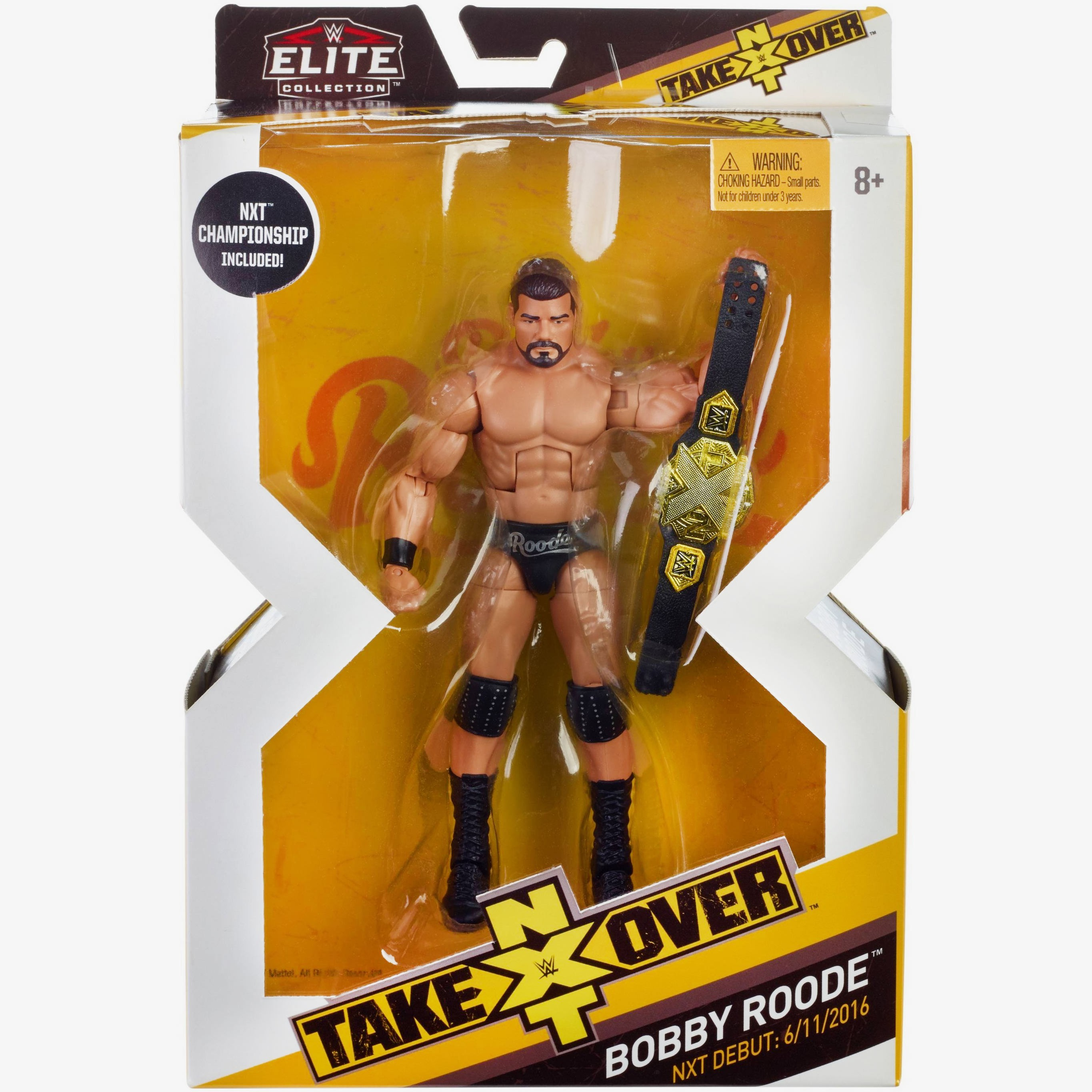 Bobby Roode Nxt Takeover Elite Collection Series 3