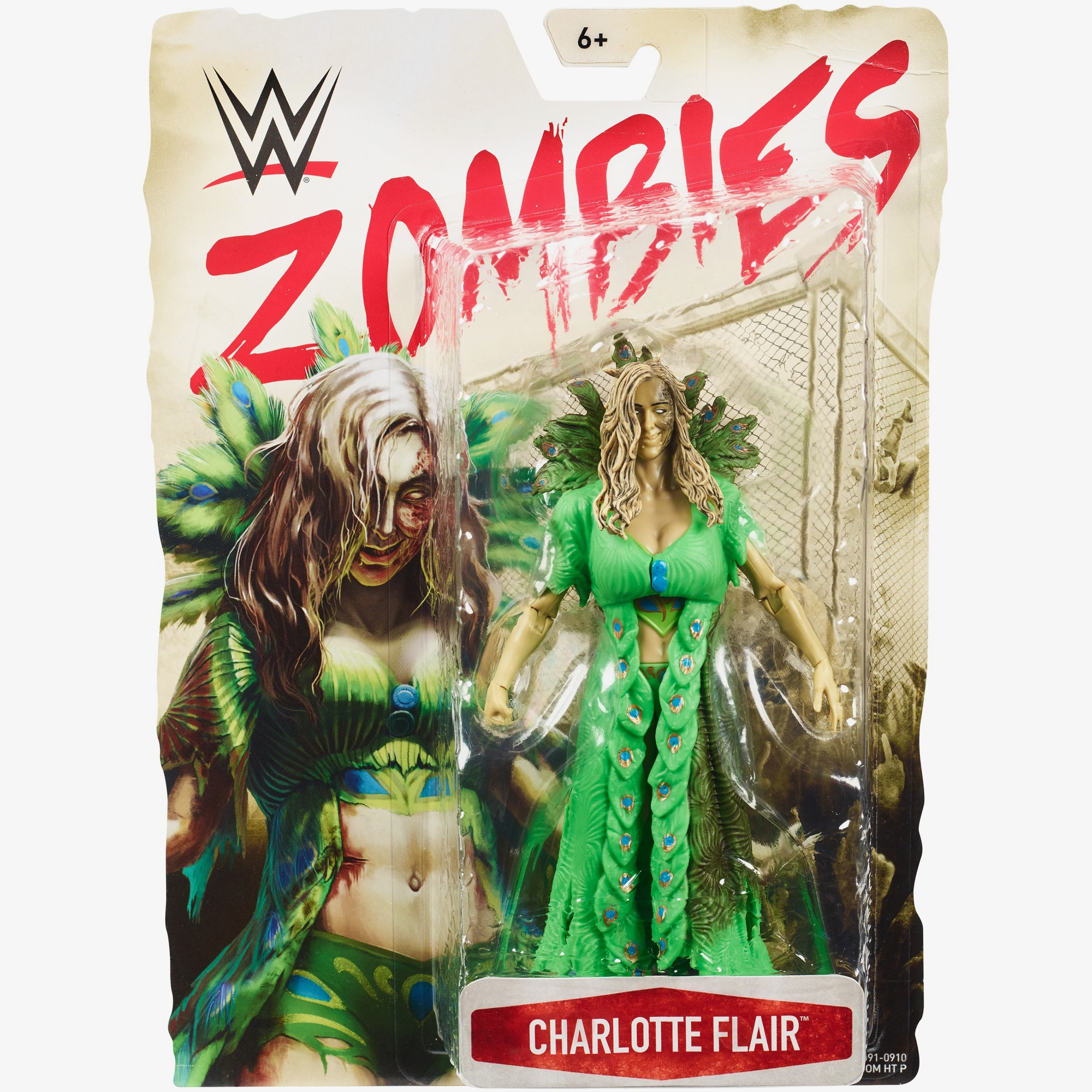 Charlotte Flair  Wwe Zombies Series #3