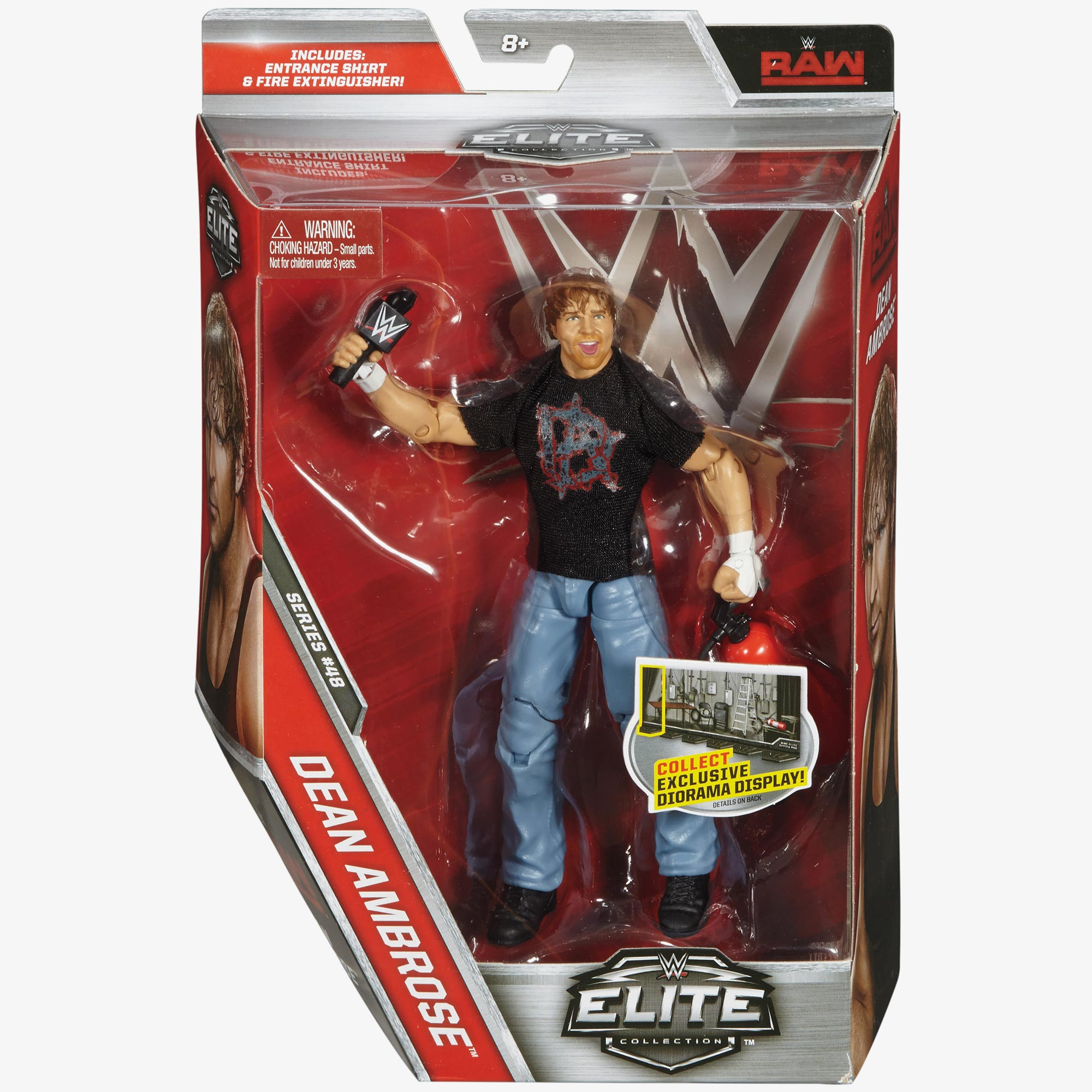 Dean Ambrose WWE Elite Collection Series #48