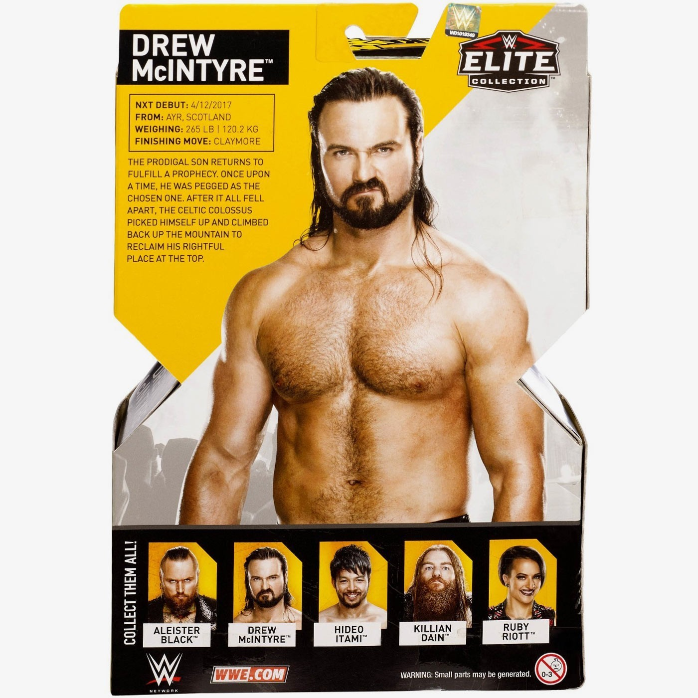 drew mcintyre nxt takeover elite collection series 4. Black Bedroom Furniture Sets. Home Design Ideas