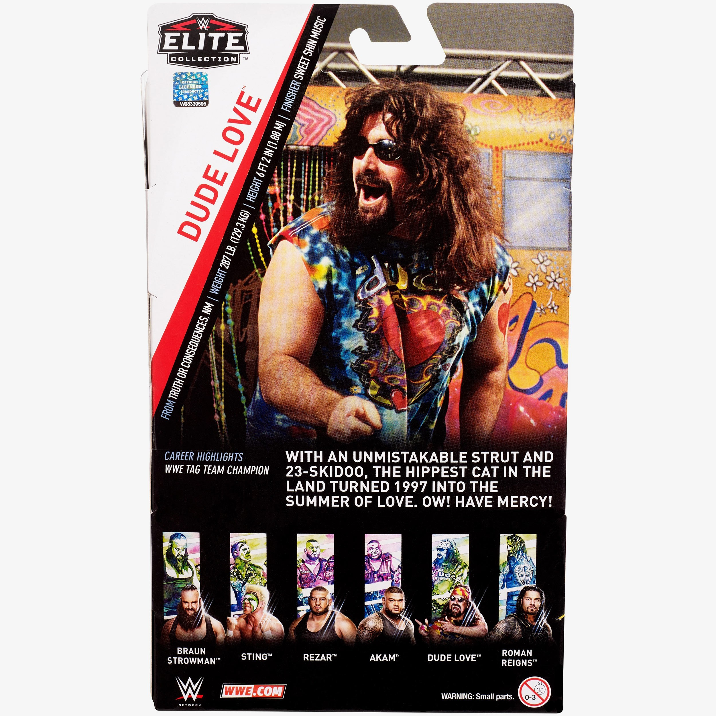 41f224903 Dude Love WWE Elite Collection Series  62