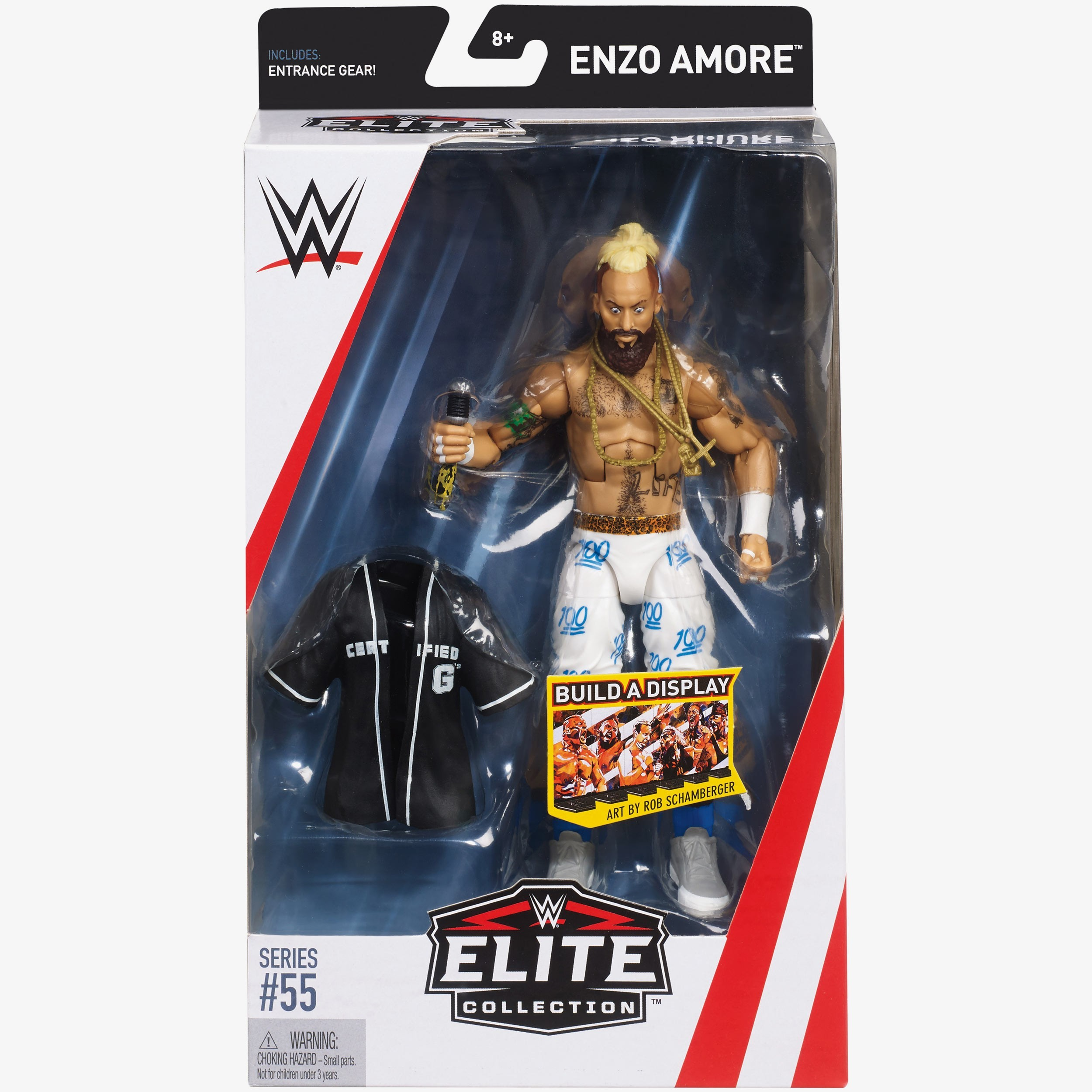 Enzo Amore Wwe Elite Collection Series 55