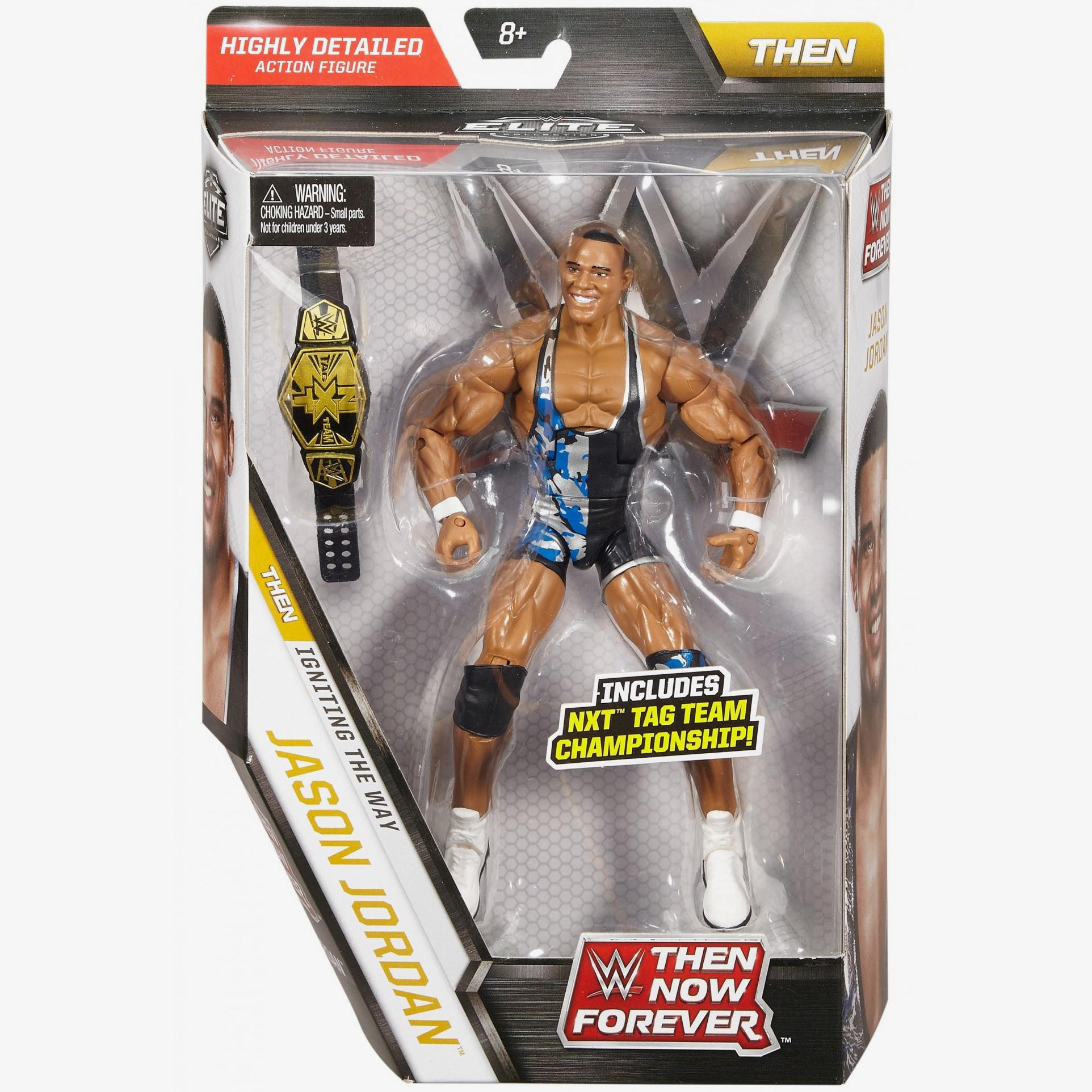 WWE Mattel 2017 Elite Collection Flashback Then Now Forever Chad Gable