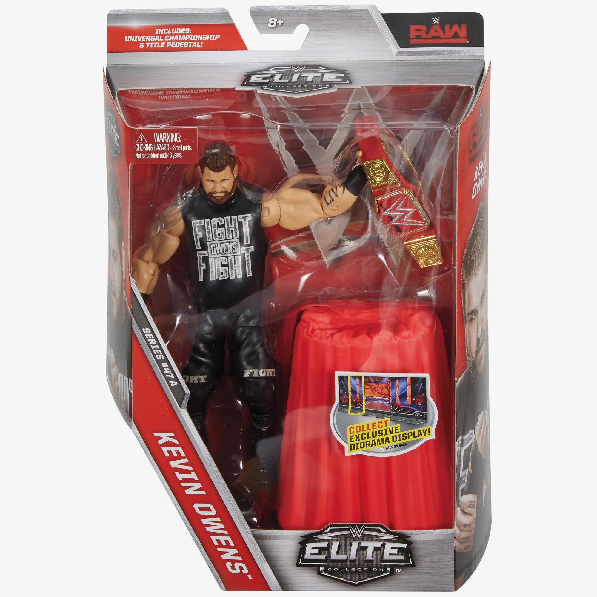 Kevin Owens Wwe Elite Collection Series 47 Action Figure