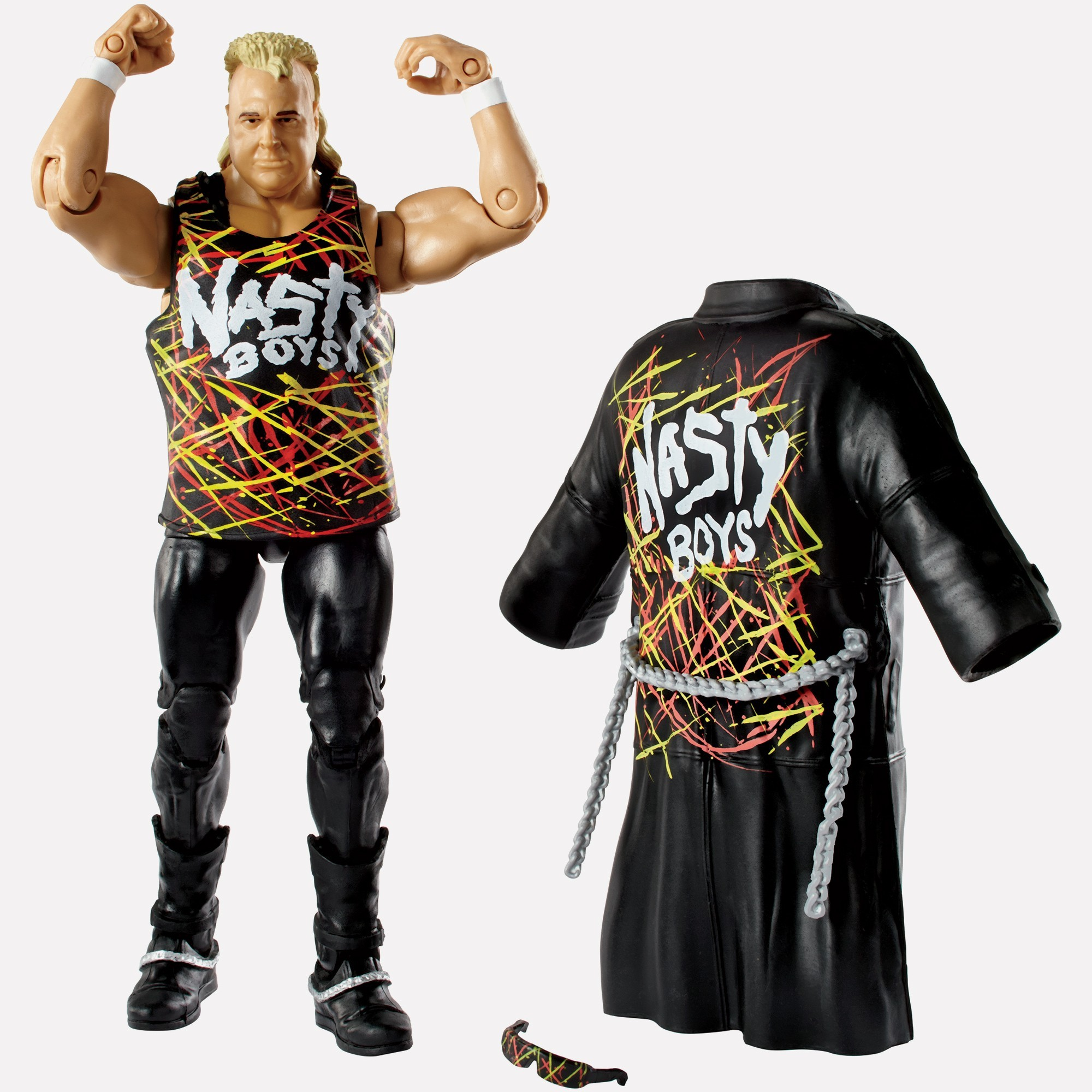 Wwe Toys For Boys Christmas : Nasty boy brian knobbs wwe elite collection series