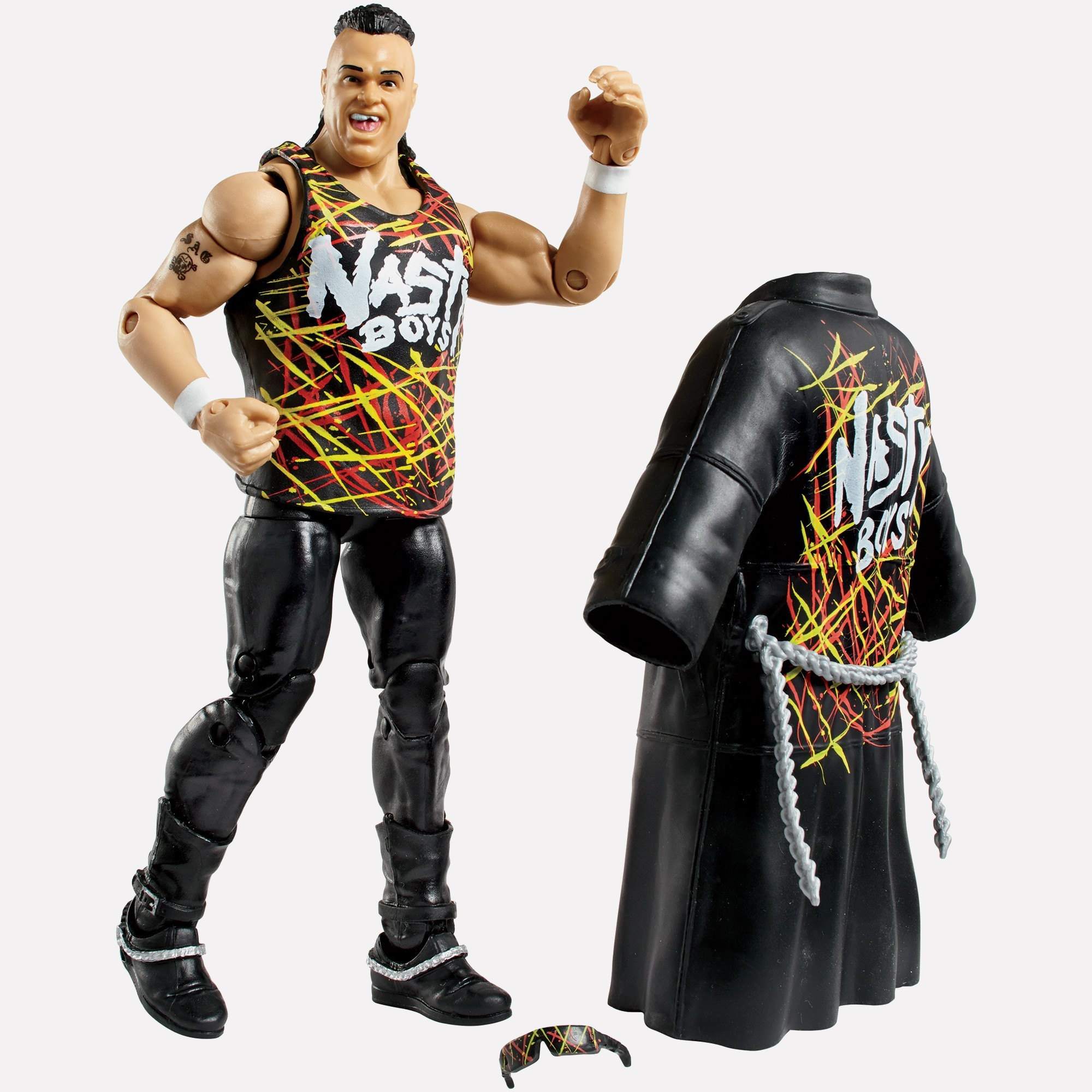 Wwe Toys For Boys Christmas : Nasty boy jerry saggs wwe elite collection series