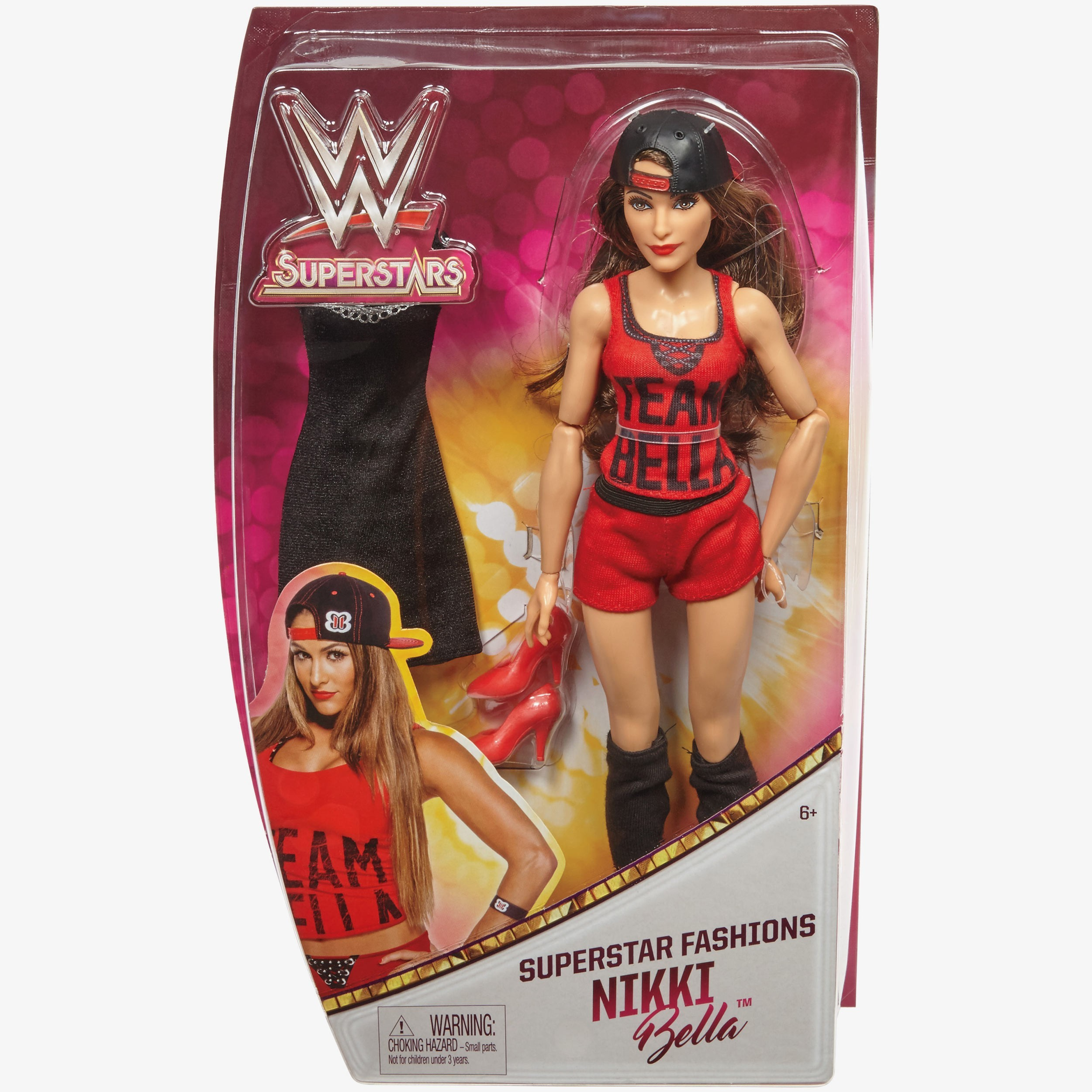Nikki bella 12 inch wwe fashion doll with extra accessories Nikki bella fashion style