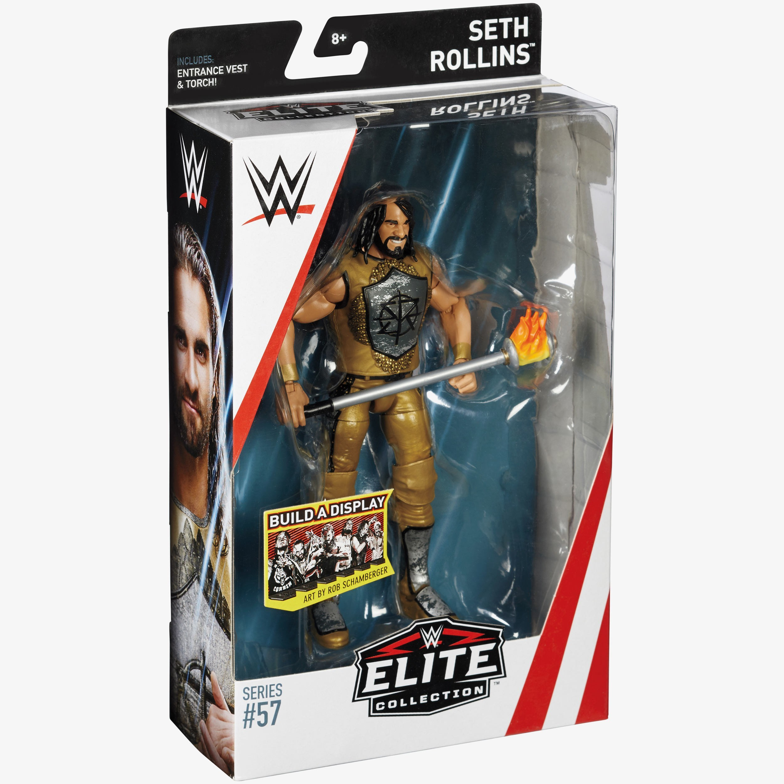 Seth Rollins Wwe Elite Collection Series 57