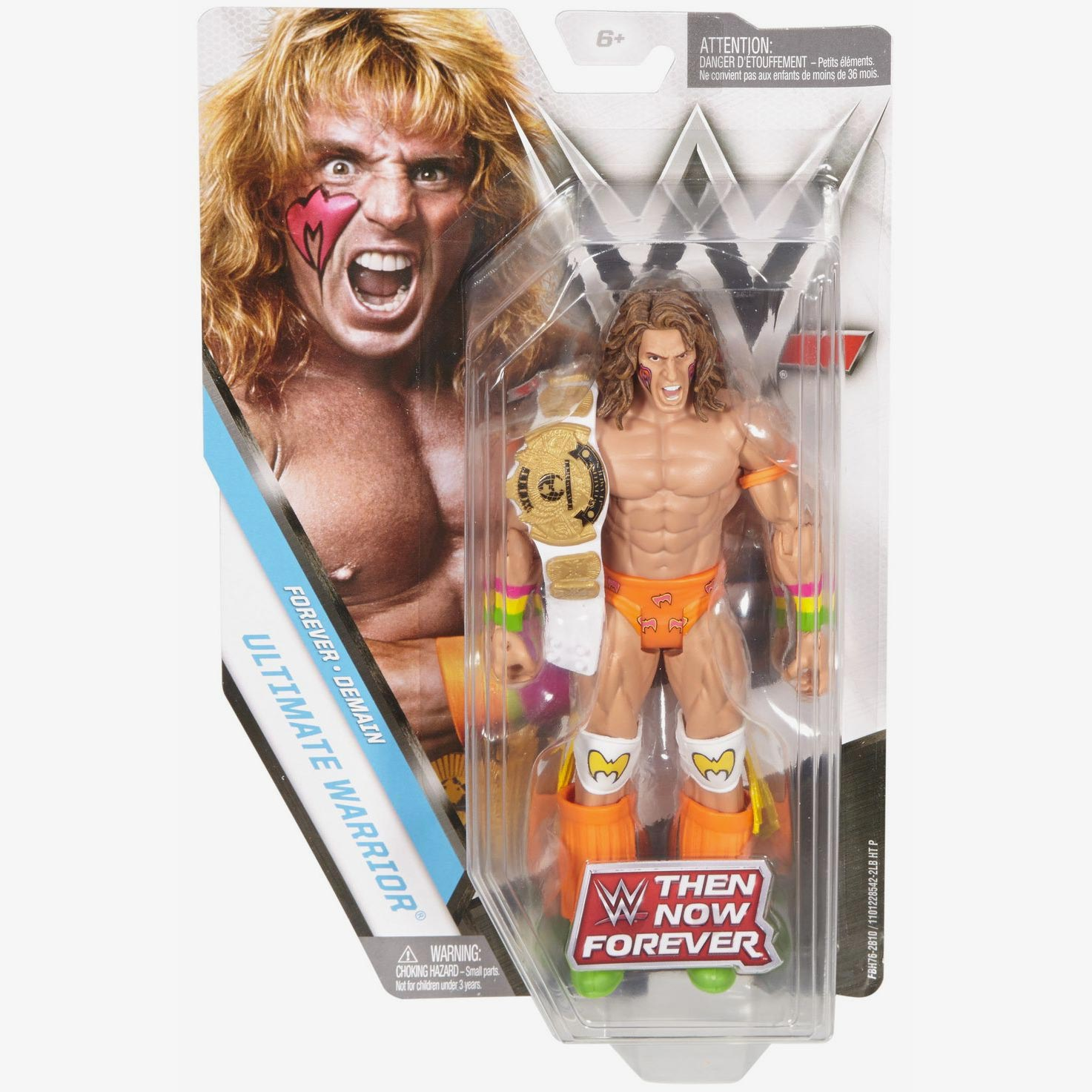Ultimate Warrior - WWE Then Now Forever 2017 Basic Series