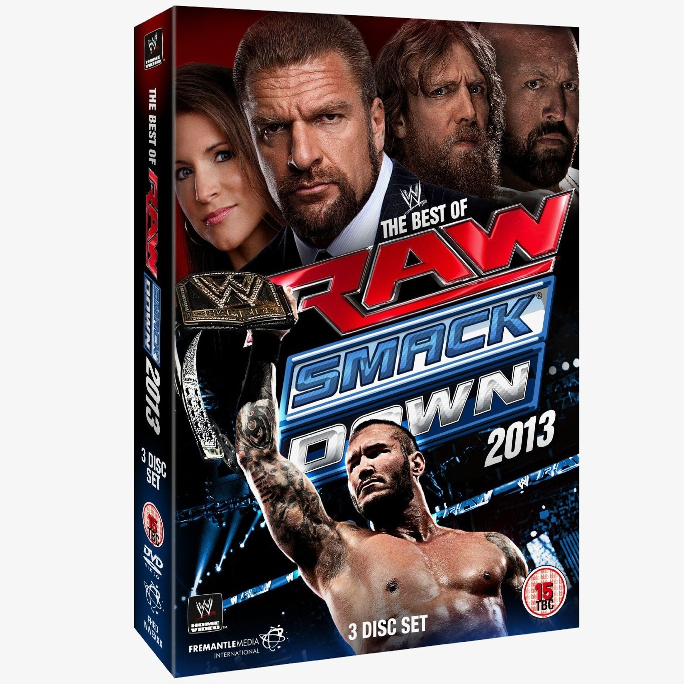 Wwe tables ladders and chairs 2013 poster - Wwe The Best Of Raw And Smackdown 2013 Dvd 3 Discs
