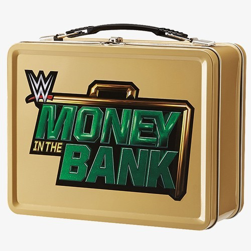 Galerry WWE Money in the Bank Tin Lunch Box