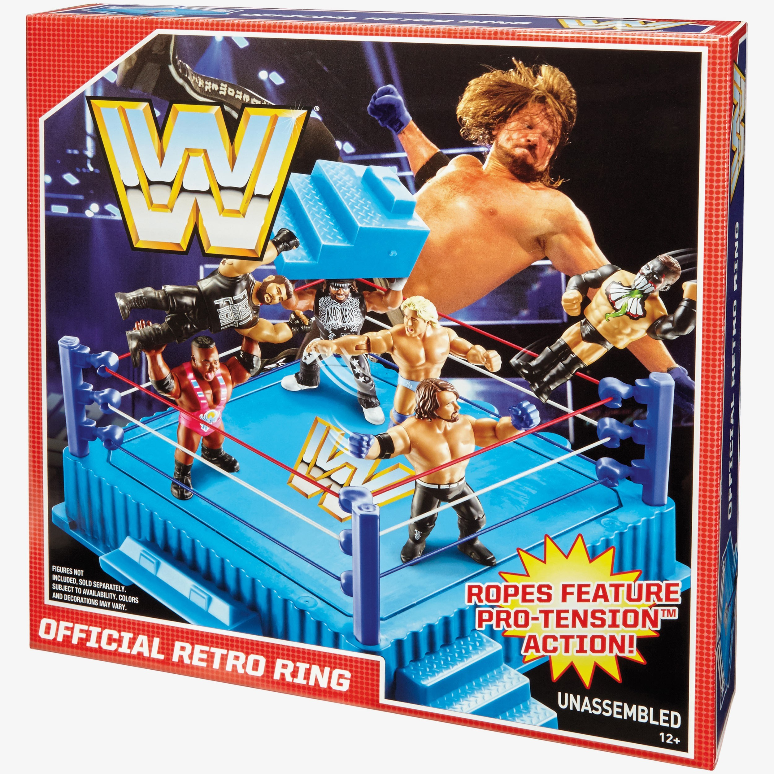 Wwe Retro Ring Playset For Wwe Retro Figures