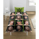 WWE Superstars Single Bedding Set (Green squared)