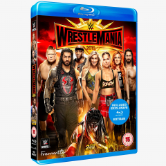 WWE WrestleMania 35 Blu-ray