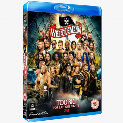 WWE WrestleMania 36 Blu-ray
