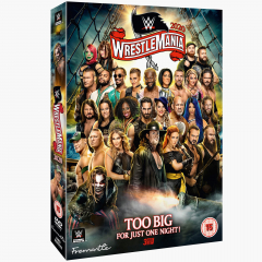 WWE WrestleMania 36 DVD