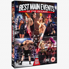 WWE Best Main Events of the Decade 2010-2020 DVD