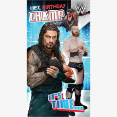 WWE Happy Birthday Card #2