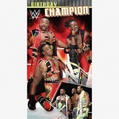 WWE Happy Birthday Champion Card