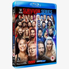 WWE Survivor Series 2018 Blu-ray