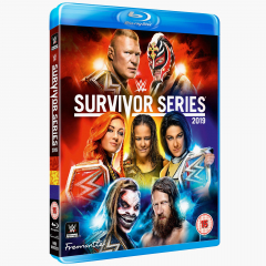 WWE Survivor Series 2019 Blu-ray