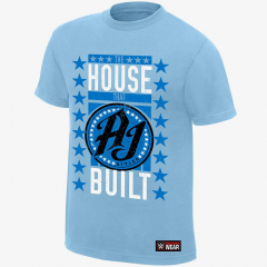 AJ Styles - The House That AJ Built - Men's WWE Authentic T-Shirt