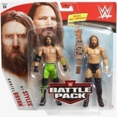 AJ Styles & Daniel Bryan - WWE Battle Pack Series #64