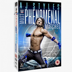 WWE AJ Styles - Most Phenomenal Matches DVD