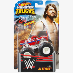 AJ Styles - Hot Wheels Monster Trucks WWE Die-Cast Collection