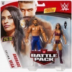 Andrade & Zelina Vega - WWE Battle Pack Series #62