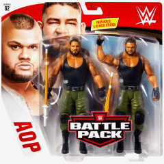 AOP - Akam & Rezar - WWE Battle Pack Series #62