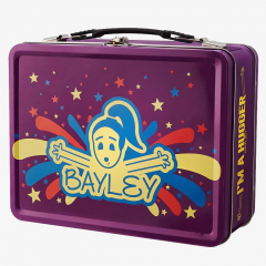 "Bayley ""I'm a Hugger"" WWE Tin Lunch Box (Purple)"