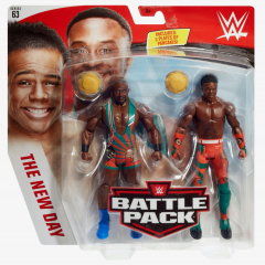 Big E & Xavier Woods - WWE Battle Pack Series #63