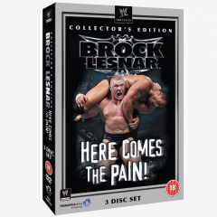 WWE Brock Lesnar - Here Comes The Pain - Collector's Edition DVD
