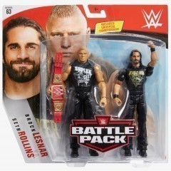 Brock Lesnar & Seth Rollins - WWE Battle Pack Series #63