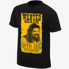 Cactus Jack - Wanted - Men's WWE Retro T-Shirt