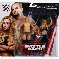Carmella & James Ellsworth - WWE Battle Pack Series #53