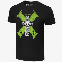 D-Generation X -  Cross - Men's WWE Retro T-Shirt