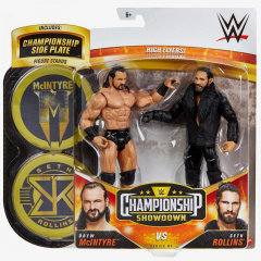 Drew McIntyre & Seth Rollins - WWE Championship Showdown 2-Pack Series #4