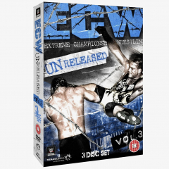 ECW Unreleased Volume 3 DVD