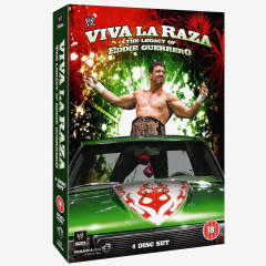 WWE Viva La Raza! The Legacy of Eddie Guerrero DVD